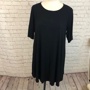 Eileen Fisher Black Tunic Top